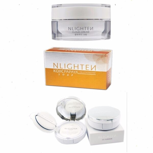 nlighten anti melasma and freckles set